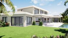 STE MAXIME SUPERB CONTEMPORARY VILLA NEW SEA VIEW AT SEMAPHORE. Rare STE MAXIME new villa of 300 m2 located in the district of Semaphore, in a quiet environment close to the beach and only 500 m2 from the shops. Large living room of 120 m2 with a fully equipped and landscaped kitchen overlooking a large covered terrace and the infinity pool and garden. Single-storey master bedroom with bathroom and dressing room. Upstairs 4 bedrooms in a suite overlooking a large solarium. Garage for 3 cars.  This property will seduce you with these high-end quality services.